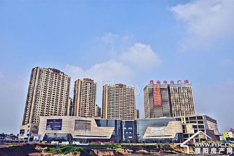 千亿体育app恒丰中央广场实景图