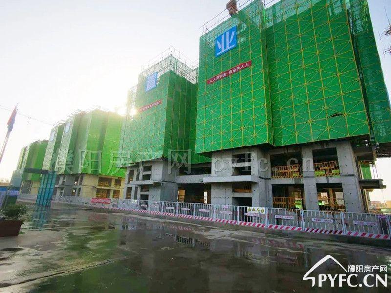 千亿体育app华信越绣城施工进度图