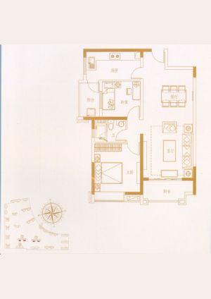 04户型-三室二厅二卫一厨-户型图