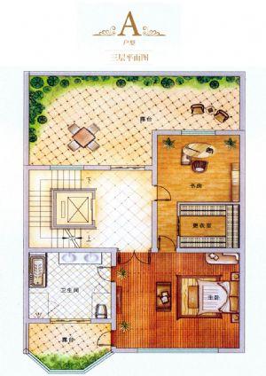 A户型-室厅卫厨-户型图
