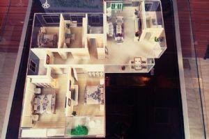 二期F户型-四室二厅二卫一厨-户型图