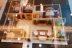 10B户型-三室二厅二卫一厨-户型图