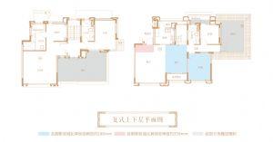 洋房5-6复式-室厅卫厨-户型图