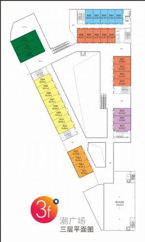 三层平面图-室厅卫厨-户型图