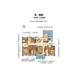 悦峰藏-五室二厅三卫一厨-户型图