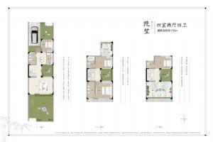 院望-四室二厅四卫一厨-户型图