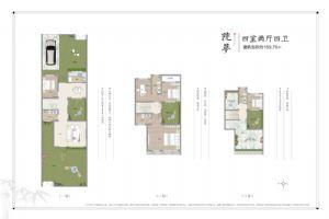 院梦-四室二厅四卫一厨-户型图