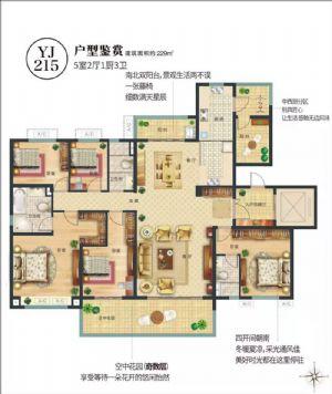 YJ-215-五室二厅三卫一厨-户型图