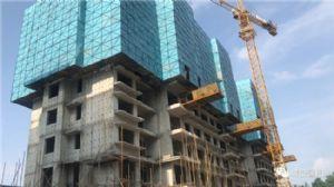开州城投馨园2020年7月施工进度图
