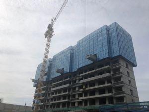 碧桂园铂金时代2020年8月施工进度图