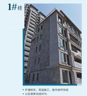 中梁壹号院2020年8月施工进度图