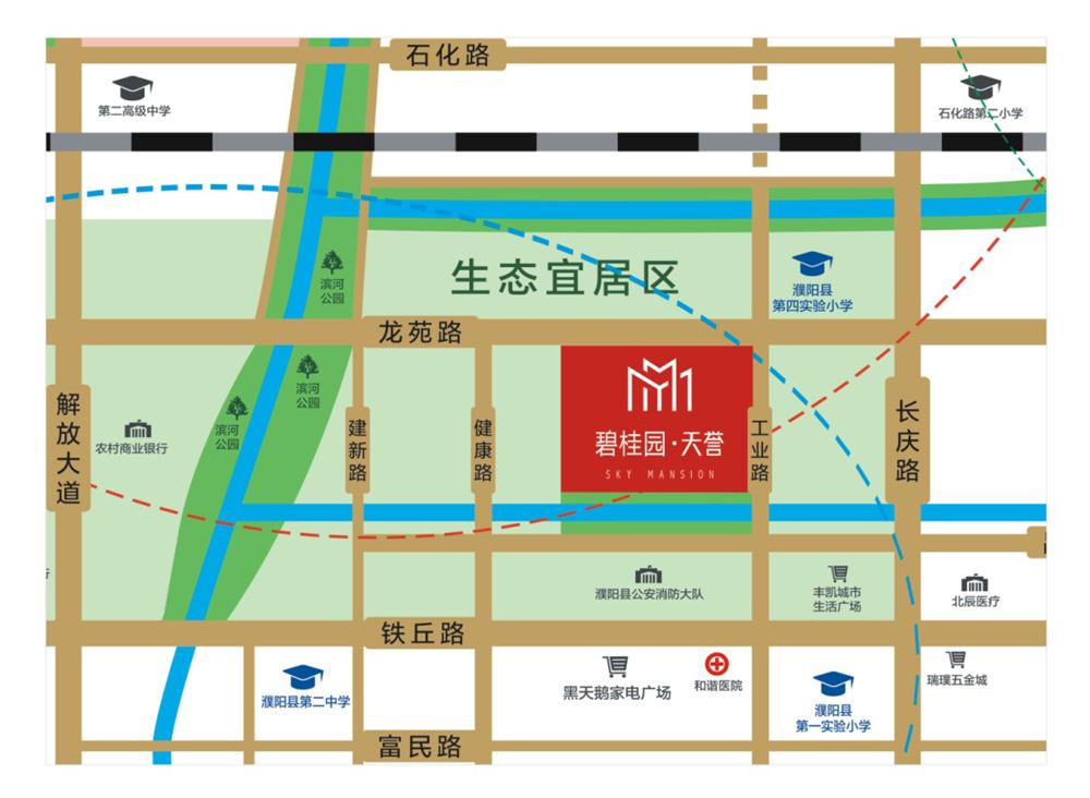 千亿体育app碧桂园天誉区位图