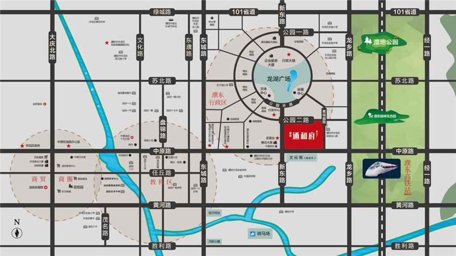 千亿体育app千赢国际老虎机登录通和府·和公馆区位图