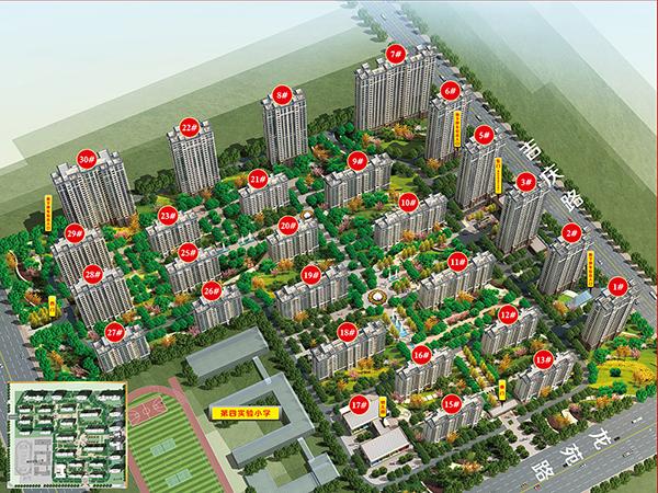 千亿体育app越绣樟园户型图