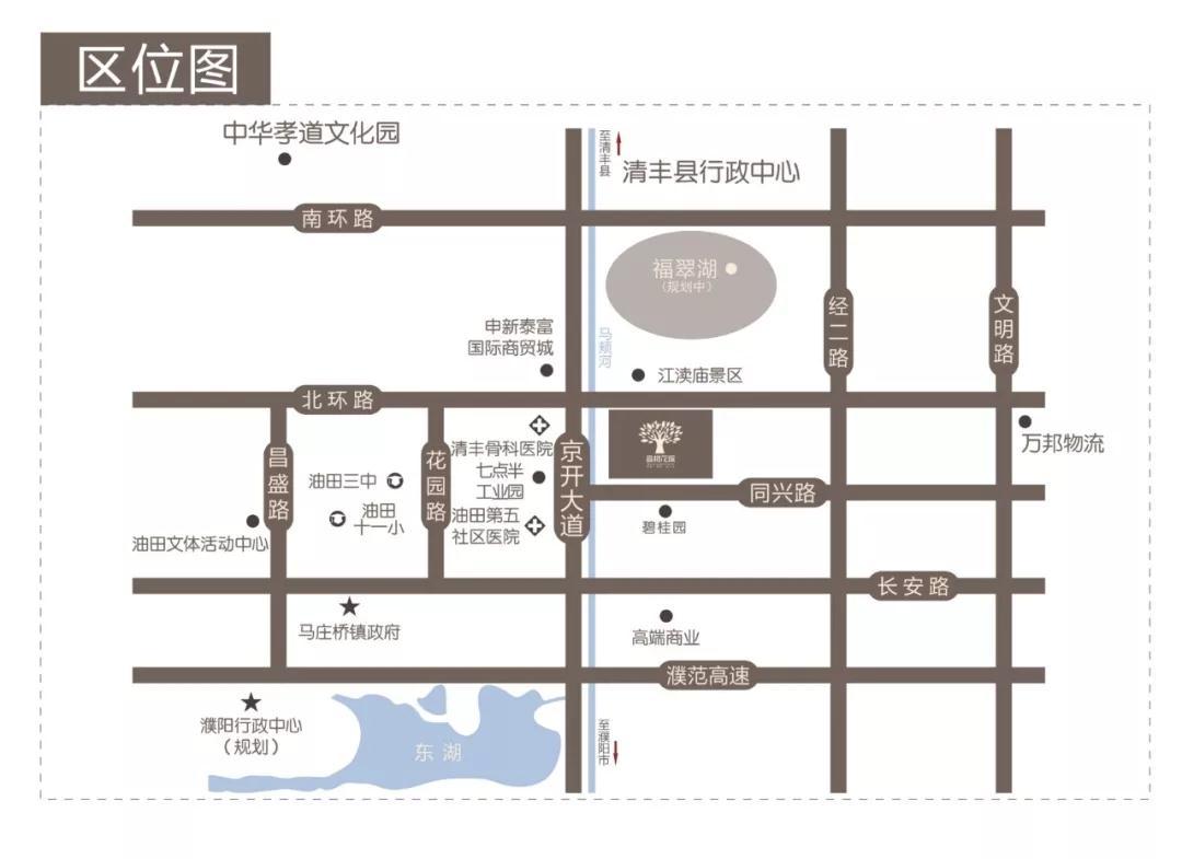 千亿体育app香树花城区位图