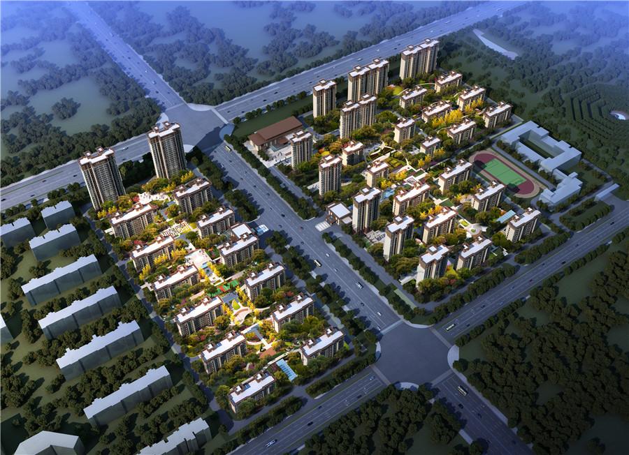 濮阳清丰建业城户型图