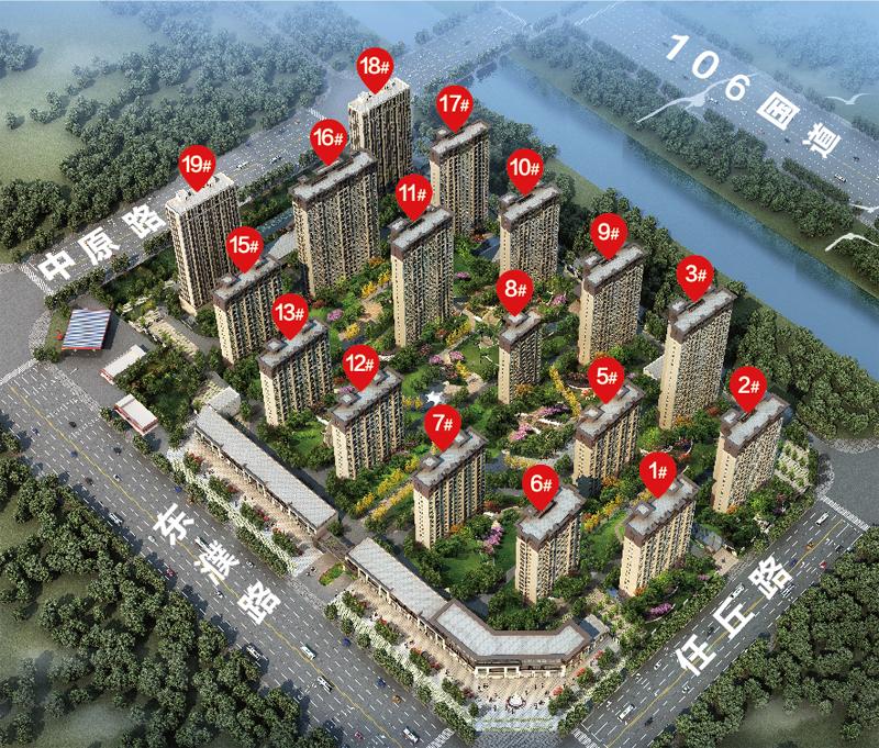 濮阳春风燕语户型图