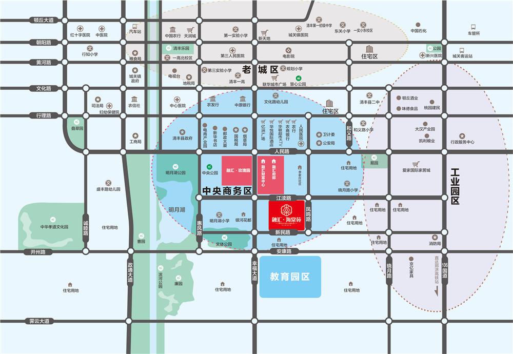 千亿体育app融汇海棠苑     区位图