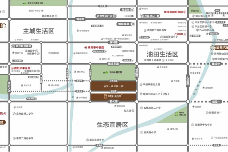 千亿体育app圣桦清华玖号院二期区位图